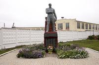 Памятник работникам локомотивного депо, павшим смертью храбрых в годы Великой Отечественной войны 1941-1945 гг. Агрыз. 2014
