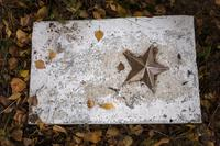 Бөек Ватан сугышы елларында һәлак булганнар хөрмәтенә обелиск. Мордва авылы, Әгерҗе районы. 2014