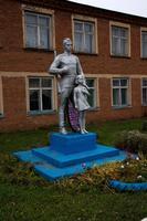 Памятник Солдату-освободителю. Дер.Исенбаево, Агрызский район. 2014