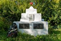 Памятник воинам Великой Отечественной войны, умершим от ран в эвакуационном госпитале №2786 Кукморском кладбище. 2014