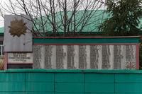 Мемориальный комплекс. Списки погибших земляков. д. Старое Тимошкино. 2014