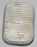 Трофейная консервная банка. Норвегия. 1943-1945. Алюминий