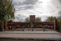 Мемориал воинам,  павшим в годы Великой Отечественной войны. Село Новошешминск РТ