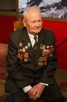 Фото. Рахимов Х.С.-ветеран Великой Отечественной войны. 2014