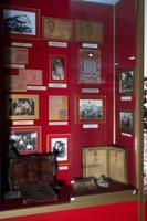 Стенд в экспозиции музея посвящен жизни в тылу в 1941-1945. 2014