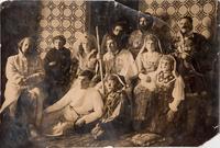 Фото. Самодеятельные артисты клуба станции Нурлат. 1941-1942.
