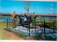 Памятник воинам погибшим от ран и болезней в Нурлатском  эвакогоспитале № 3654 д.Тарн-Варн Нурлатского района. 2014