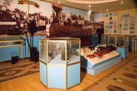 Фрагмент экспозиции Регионального музея Закамья и г. Нурлат посвящен железно-дорожной станции. 2014