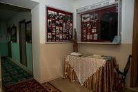 Фрагмент экспозиции Музея Г.Кариева посвящен павшим на полях сражений  землякам. 2014
