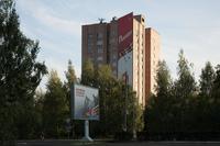 Инсталляция  «Победа» на крыше многоэтажки, г. Нижнекамск, РТ
