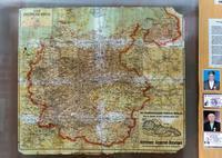 Карта Германского рейха. Германия. 1930-е – 1940-е