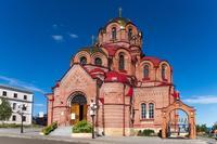 Троицкая церковь (1901— 1906 гг.). г. Лаишево. 2014