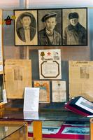 Фрагмент экспозиции, посвященный Великой Отечественной войне