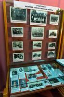 Фрагмент экспозиции музея, посвященный ветеранам Великой Отечественной войны