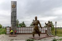 Мемориальный комплекс. г.Пестрецы. 2014
