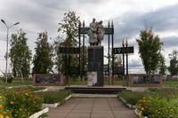 Монумент воину-победителю в Парке Победы, г. Мензелинск