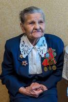 Фото. Куприянова Н.Н. - участница Великой Отечественной войны. 2014