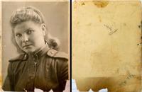Фото. Куприянова Н.Н. - участница Великой Отечественной войны. Москва.  21.11.1944