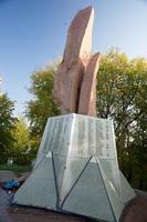 Обелиск павшим воинам в Великой Отечественной войне в посёлке Орловка