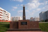 Обелиск павшим в Великой Отечественной войне жителям села Боровецкое