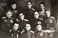 Фото группрвре.  1946г.