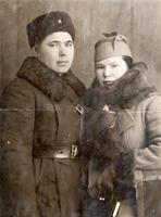 Фото. Б.Юсупов с супругой от 04.02.1940г.