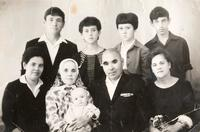 Фото, Б.Юсупов среди родных г.Альметьевск от 04.07.1968г.