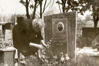 Фото, могила Б.Юсупова от 1983г.