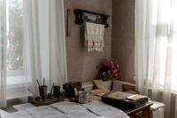 Фрагмент экспозиции музея, посвященный Остроумову А.С. – участнику Великой Отечественной войны. 2014