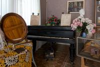 Фрагмент экспозиции музея, посвященный Плещееву Г.Т. – участнику Великой Отечественной войны. 2014