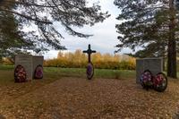 Елабуга,  ул. Тугарова, кладбище немецких военнопленных