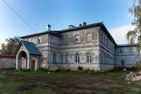 Лагерный лазарет. Территория Богородицкого женского монастыря в годы ВОв здесь находился лагерь  НКВД № 97