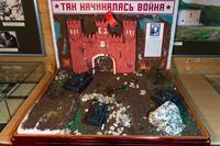 Раздел экспозиции Музея Героя Советского Союза Гаврилова П.М., посвященный началу войны. 2014