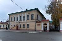 Здание Елабужского военкомата
