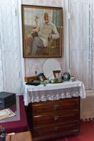 Фрагмент спальни с портретом А.Е.Арбузова.