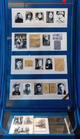 Стенд в экспозиции с фото и документами павших во время Великой Отечественной войны студентов вуза. 2014