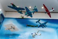 Макеты самолетов в музее истории КНИТУ - КАИ. 2014