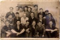 Фото.Коллектив лаборатории авиадвигателей.1945