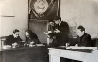 Фото. ЦАГИ, филиал № 1, лаборатория статических испытаний. 1942