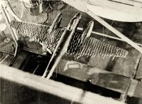Фото. Испытание модели самолета Пе-2 в аэродинамической лаборатории КАИ. 1944
