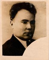 Фото. Нужин С.Г. доцент авиационного института, участник строительства оборонительных сооружений. 1941