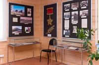 Фрагмент экспозиции музея Героя Советского Союза Гаврилова П.М. 2014