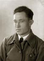 Фото. Манохин Д.Г.- студент авиационного института. 1941