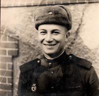Фото. Гребеньков О.А.-участник Великой Отечественной войны. 1940-е