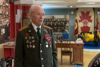 Фото. Ботов Б.А. в экспозиции Музея  истории МВД  РТ. 2014