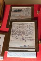 Письмо отцу Ботова Б.А. с сообщением, что сын награжден орденом Красной Звезды. 1943