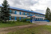 Здание Конской средней общеобразовательной школы имени Героя Советского союза П.М.Гаврилова. 2014