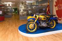Фрагмент экспозиции музея. Мотоцикл «Урал». 1970-90-е