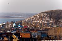 Вид на Макарьевский монастырь.ноябрь 2014