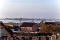 Вид на остров-град Свияжск, ноябрь 2014